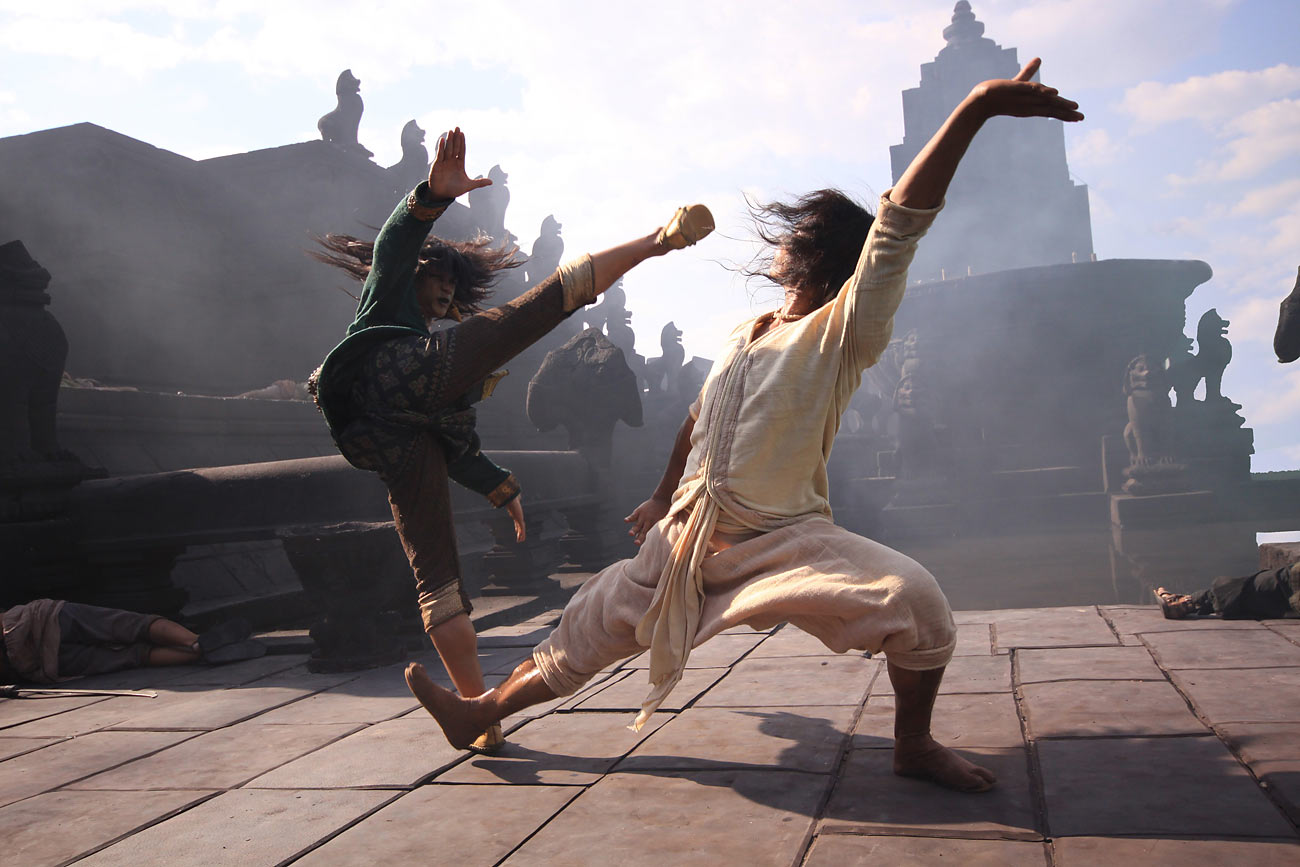 Dan Chupong and Tony Jaa in Ong Bak 3