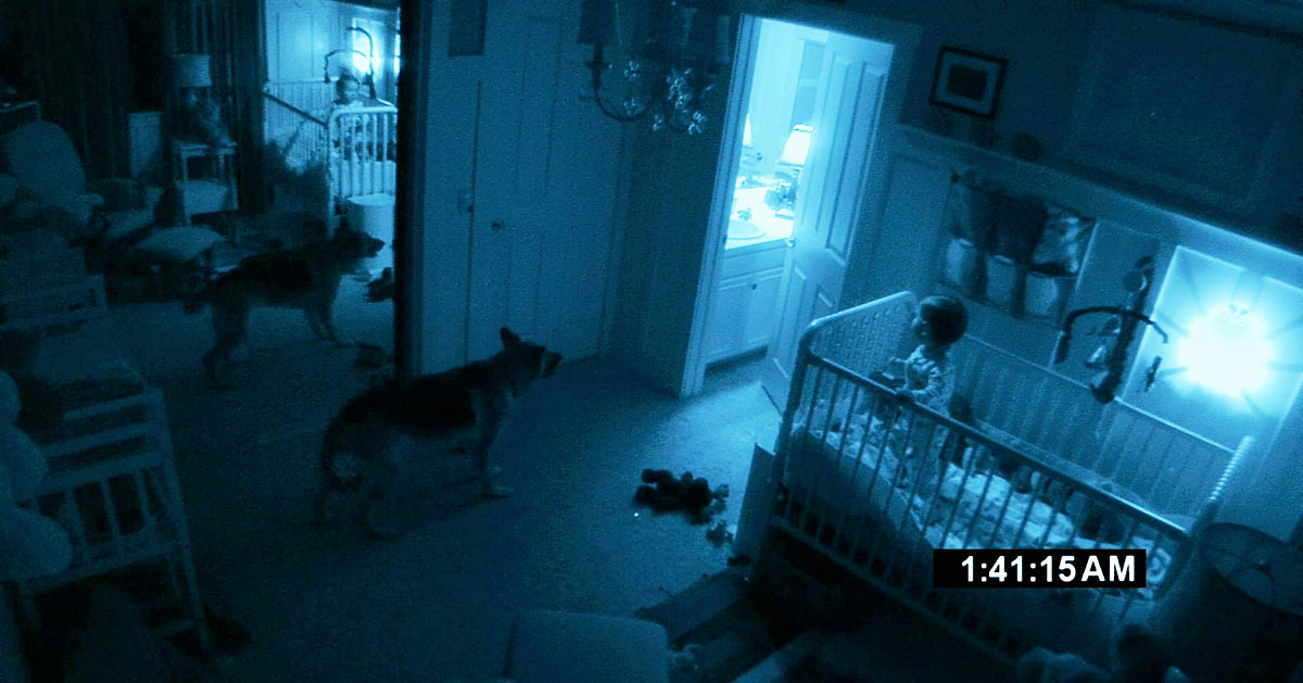 Scene from Paranormal Activity 2