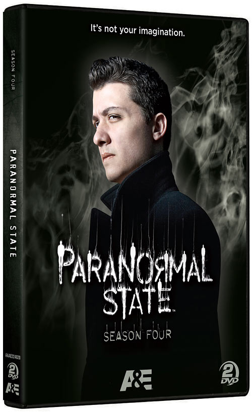 Paranormal State: The Complete Season Four DVD packaging
