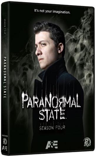 Paranormal State: Season 4 DVD packaging