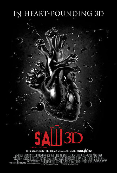 Saw Movie Quotes Saw 3d Movie Poster