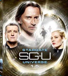 Stargate SGU Universe 1.5 DVD set
