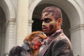 Photos from around the world of this week's global zombie invasion celebrating Robert Kirkman's The Walking Dead