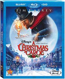 Disney's A Christmas Carol 2-Disc Blu-ray combo pack