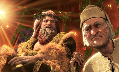 Scene from Disney's A Christmas Carol