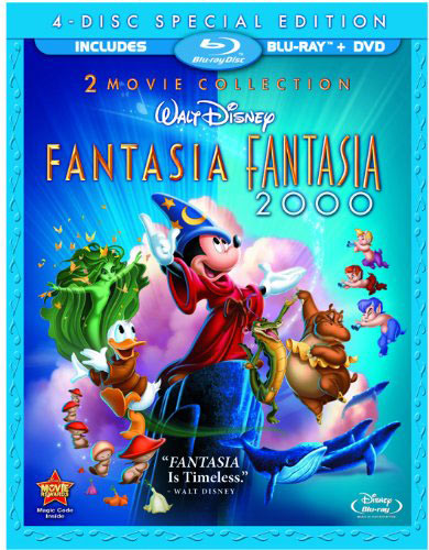 Fantasia and Fantasia 2000: 2-Movie Collection Special Edition Blu-ray