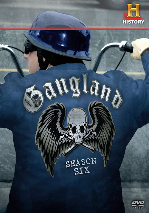 Gangland: The Complete Season Six DVD packaging