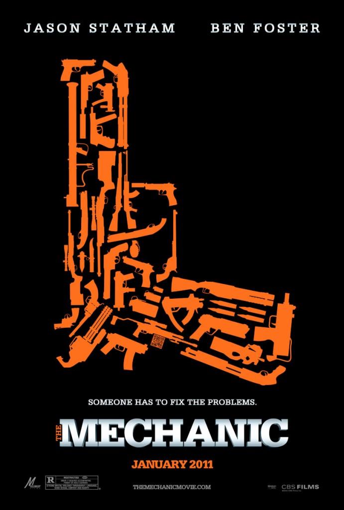 The Mechanic teaser poster