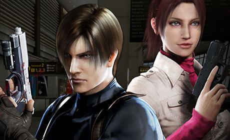 Scene from Resident Evil: Degeneration
