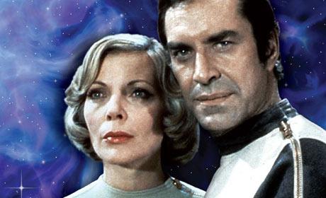 Barbara Bain and Martin Landau in Space: 1999