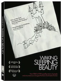 Waking Sleeping Beauty DVD packaging