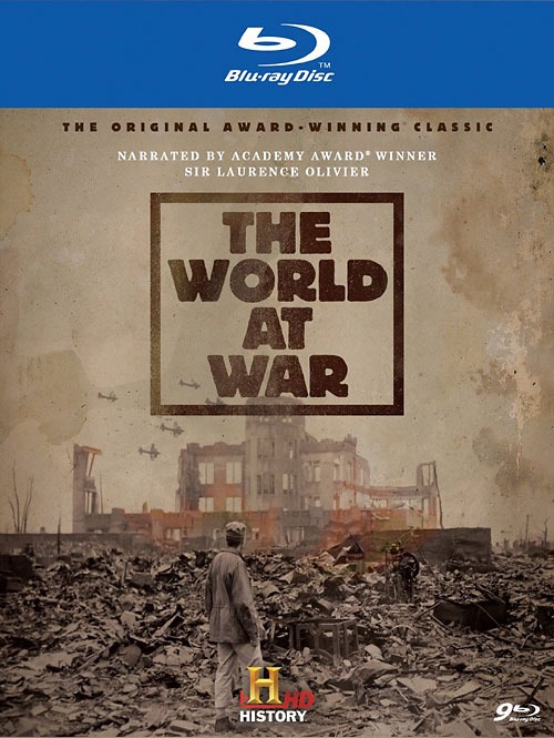 The World at War Blu-ray packaging