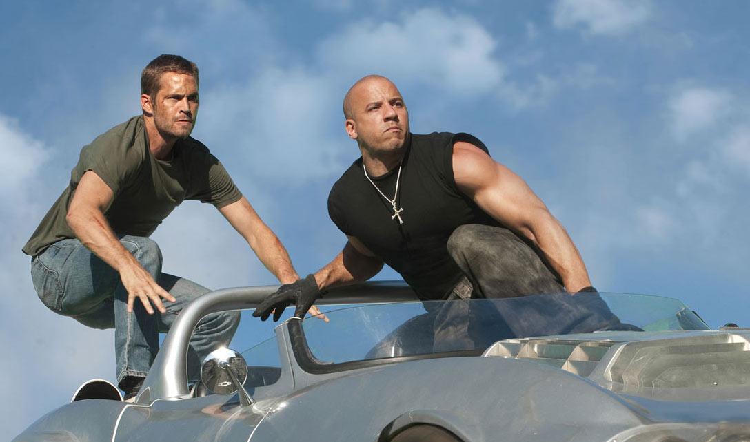 Paul Walker and Vin Diesel in Fast Five