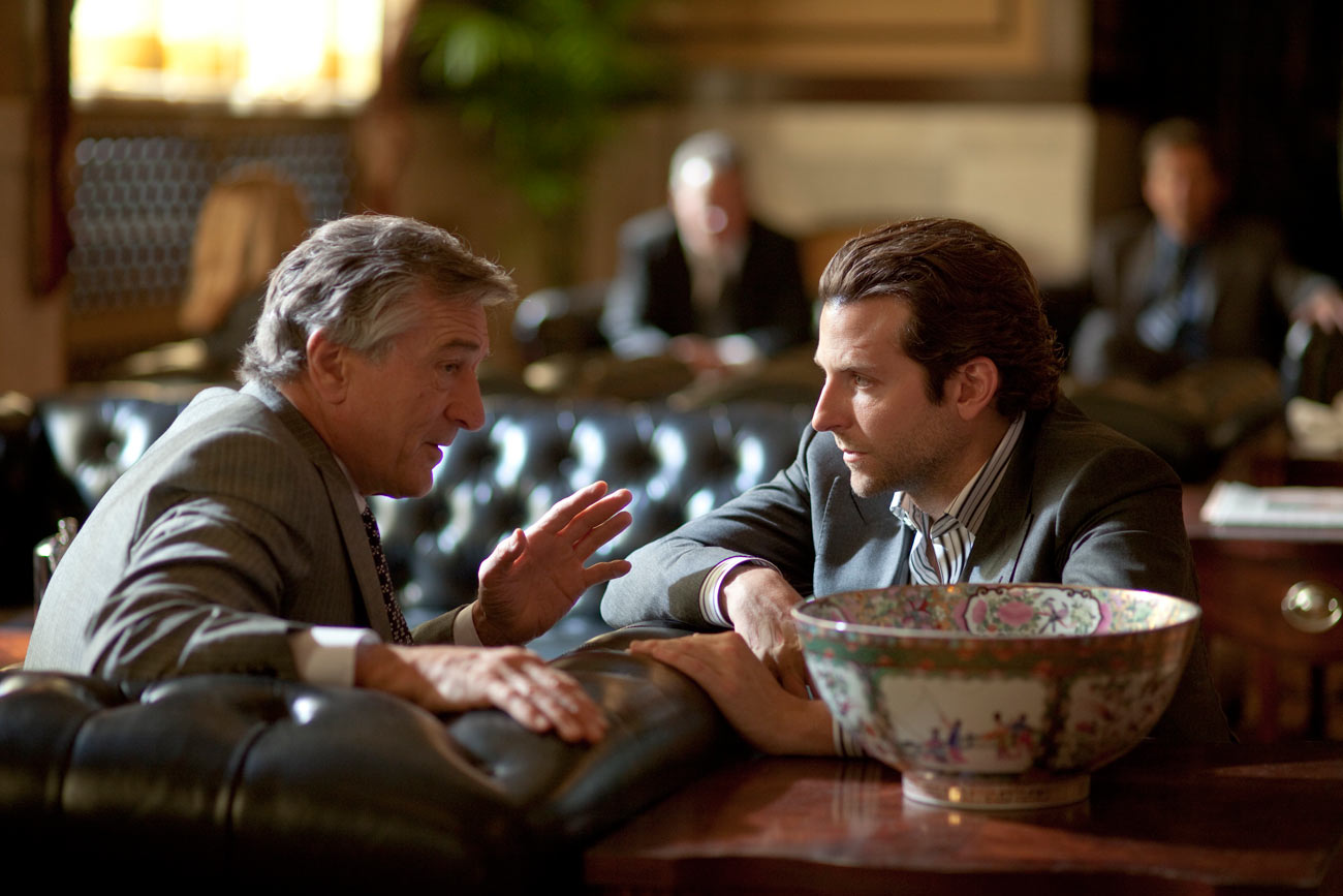 Bradley Cooper and Robert De Niro star in Limitless