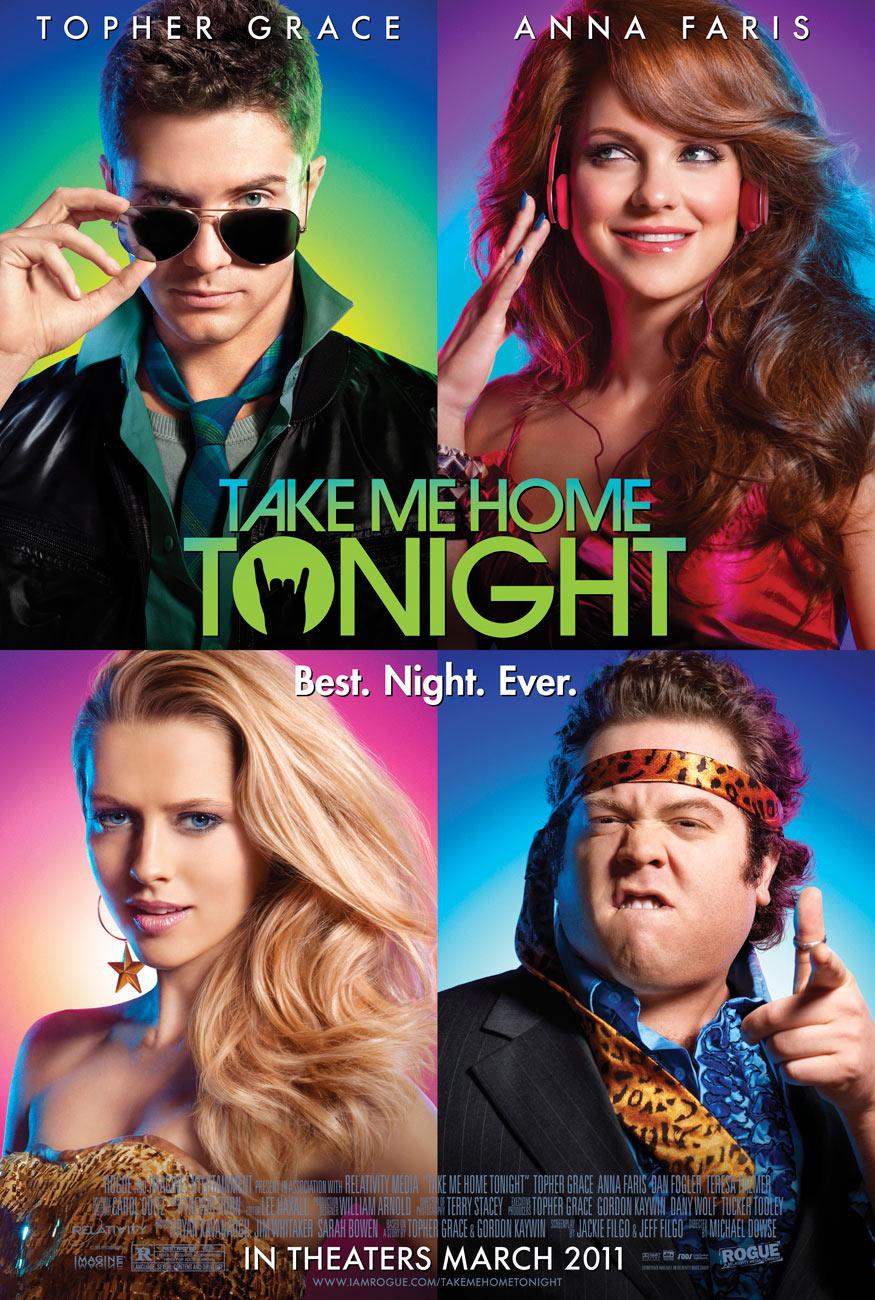 Take Me Home Tonight movie poster