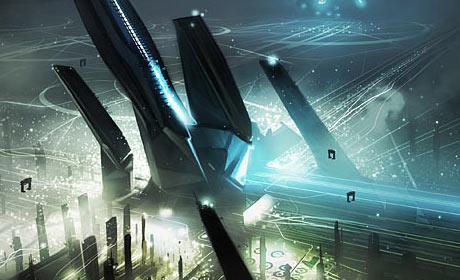 Tron: Legacy concept art image