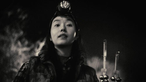 Actress and singer Lee Jung-hyun in Night Fishing