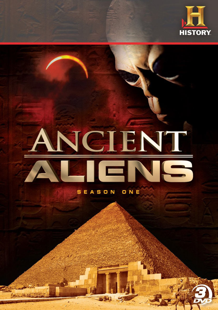Ancient Aliens: The Complete Season One DVD packaging