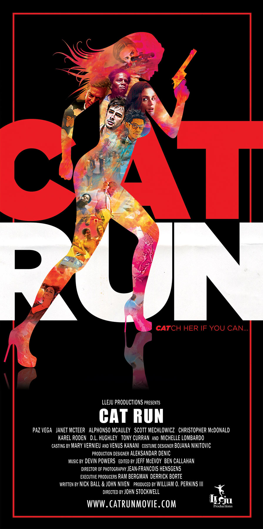 Cat Run movie poster detail
