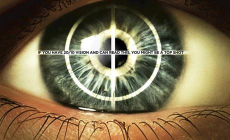 Top Shot: The Complete Season 1 DVD packaging
