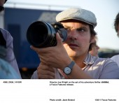 Director Joe Wright on the set of his adventure thriller HANNA, a Focus Features release. Photo credit: Jasin Boland.