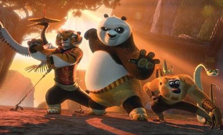 Scene from Kung Fu Panda 2