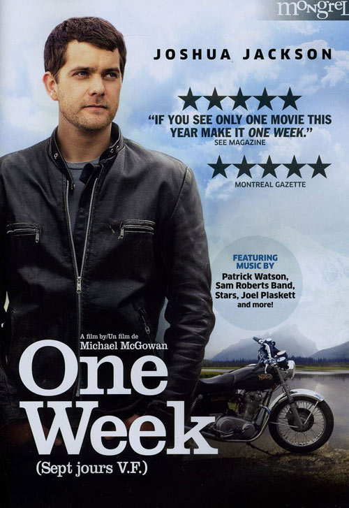 One Week DVD packaging