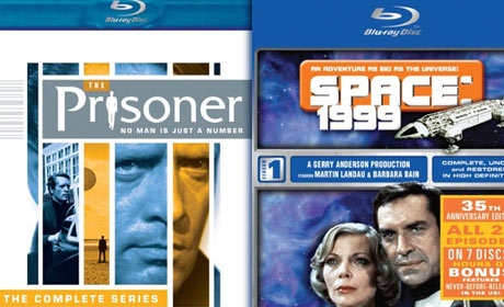Win an A&E Blu-ray Prize Pack including cult classics The Complete Prisoner Series and Season One of Space: 1999