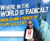 Win a trip to the Coachella Music Festival from Radical Comics