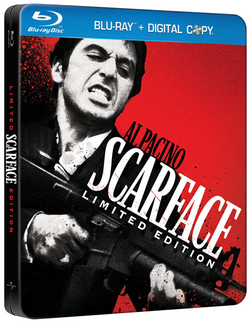 Scarface Blu-ray packaging