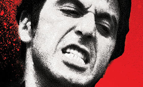 Scarface Blu-ray packaging detail