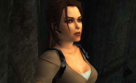 Lara Croft in Tomb Raider Legend 7