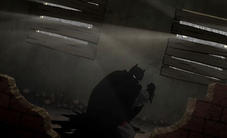 Scene from Batman: Year One