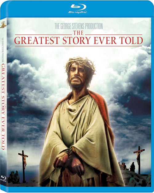 The Greatest Story Ever Told Blu-ray packaging