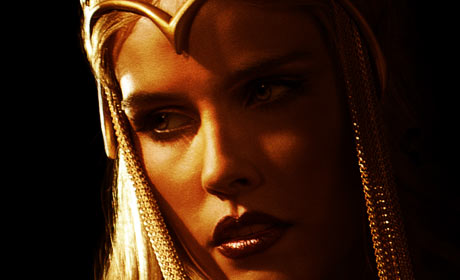 Immortals character poster featuring Athena
