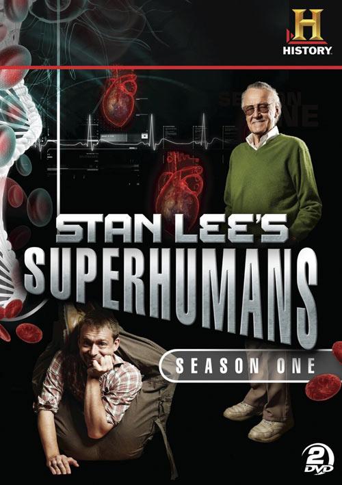 Stan Lee's Superhumans: Season 1 DVD packaging