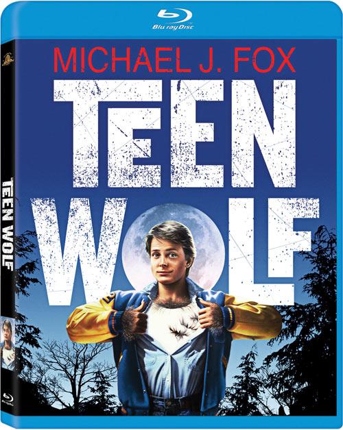 Teen Wolf Blu-ray packaging