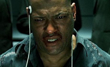 Laurence Fishburne as Morpheus in The Matrix