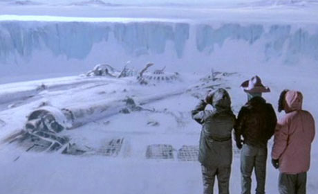 Scene from John Carpenter's The Thing