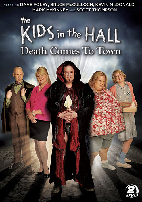 The Kids in the Hall: Death Comes to Town DVD packaging