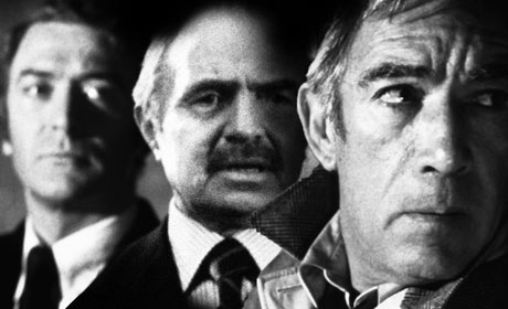 Michael Caine, James Mason and Michael Caine in The Destructors
