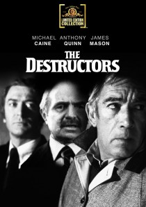 The Destructors DVD packaging
