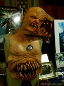 Memorabilia exhibit from The Thing screening at the Loew's Jersey