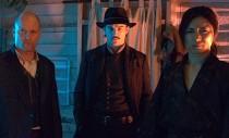 Josh Hartnett, Woody Harrelson and Gackt in the Guy Moshe martial arts action fantasy film Bunraku.