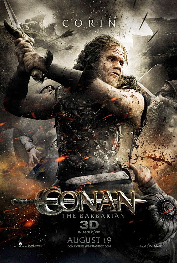 Conan the Barbarian 3D character poster