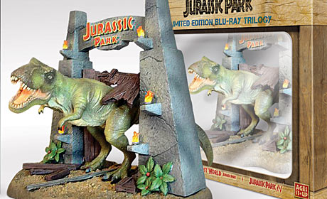 Jurassic Park Trilogy Blu-ray Special Edition