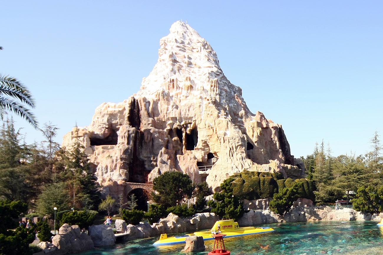 Matterhorn Bobsleds Ride at Disney