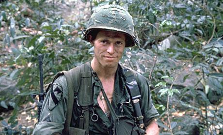 Willem Dafoe in Platoon