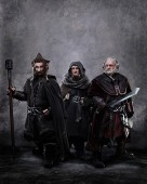 First official dwarf image released from The Hobbit production