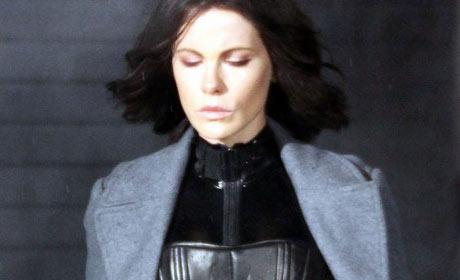 Kate Beckinsale as Selene in Underworld 4: New Dawn